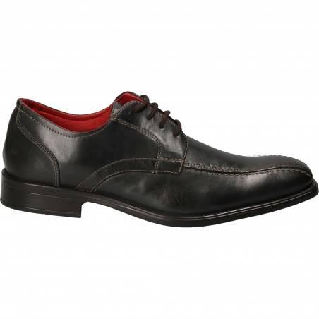 Pantofi Barbati Eleganti Piele gri inchis