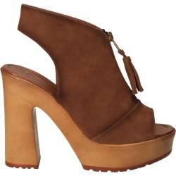 Sandale Femei Trendy Maro