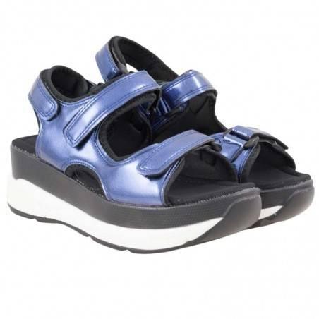 Sandale Femei Platforma albastre Fly For