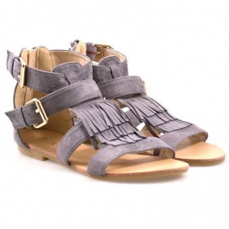 Sandale femei casual gri