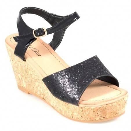 Sandale moderne, cu platforma de pluta