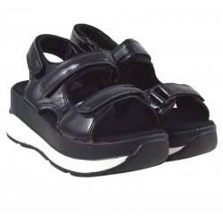 Sandale dama casual negru marca Fly For VGFW3601N.MS