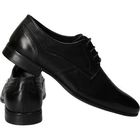 Pantofi barbati eleganti piele negri