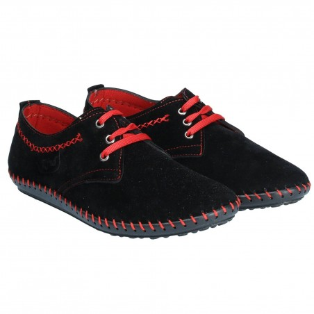 Pantofi Barbati Casual Negri
