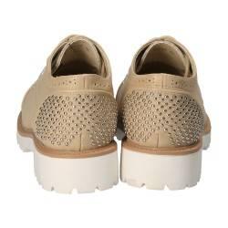 Pantofi Femei Casual Oxford Bej