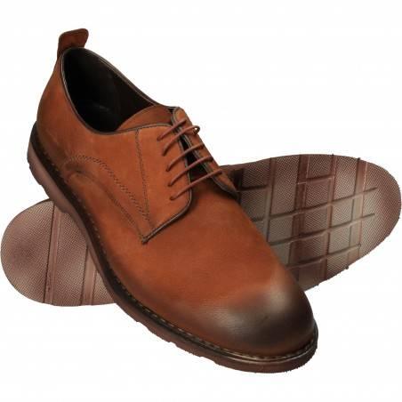 Pantofi  Barbati Elegant Piele Maro DA VINCI