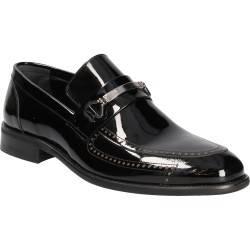 Pantofi Barbati Eleganti Negri Lac DA VINCI