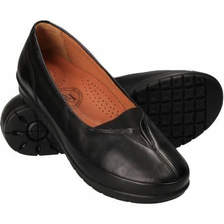 Pantofi Femei Casual Piele Negri