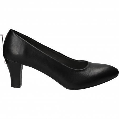 Pantofi Eleganți Piele Negri DA VINCI