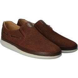 Pantofi Barbati Casual Piele Maro DA VINCI