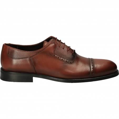 Pantofi Barbati stil Oxford, Eleganti, Piele, DA VINCI