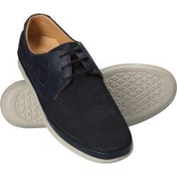 Pantofi Barbati Casual Piele Albastri DA VINCI