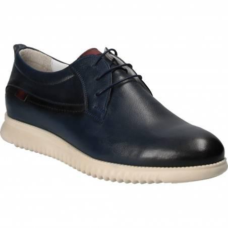 Pantofi Eleganti Barbati Piele Albastri DA VINCI