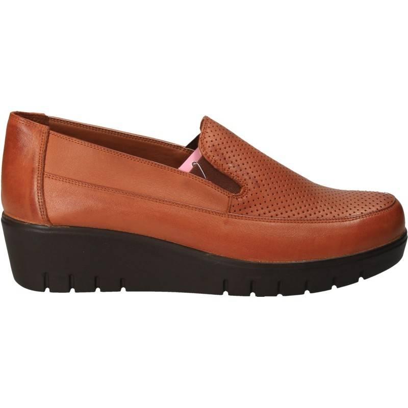 Pantofi Femei Casual Piele Maro DA VINCI