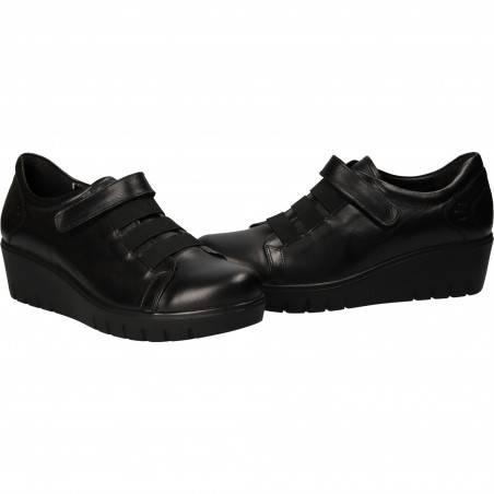 Pantofi Femei Casual Piele Negri DA VINCI