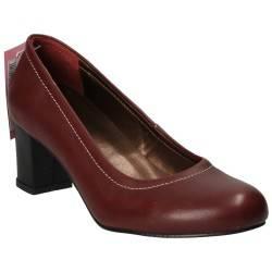 Pantofi Femei Elegant Piele Bordeaux DA VINCI
