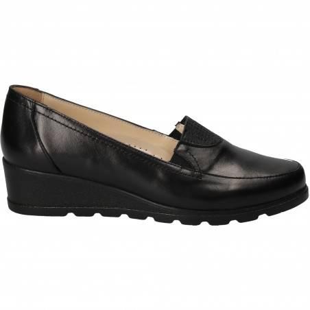 Pantofi Eleganti Femei Piele Negri DA VINCI