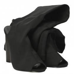 Cizme Femei Textil Negre
