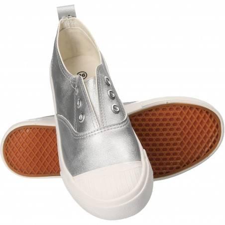 Pantofi copii Bacio and Bacio Argintii