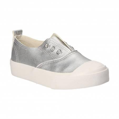 Pantofi argintii pentru copii, Bacio and Bacio