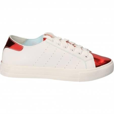 Pantofi albi casual pentru fete, femei, marca Flyfor