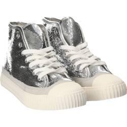 Bascheti glamour pentru femei, fete, culoarea argintie
