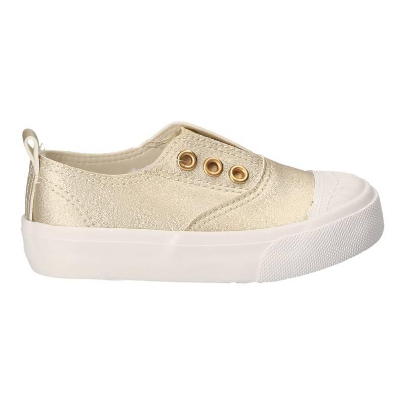 Pantofi pentru copii, culoarea aurie, marca Bacio-Bacio
