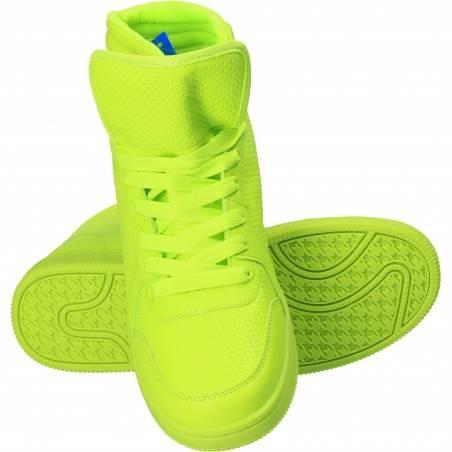 Bascheti verde neon pentru barbati, Marca Naidi