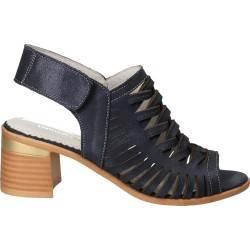Sandale albastre de dama din piele Patrizia Rigotti