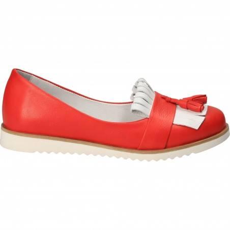 Pantofi femei, rosii, piele naturala, Patrizia Rigotti