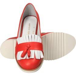 Pantofi rosii pentru femei din piele naturala, Patrizia Rigotti