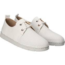 Pantofi casual albi pentru femei, piele naturala, P. Rigotti