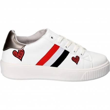 Pantofi albi sport, pentru femei, marca Patrol
