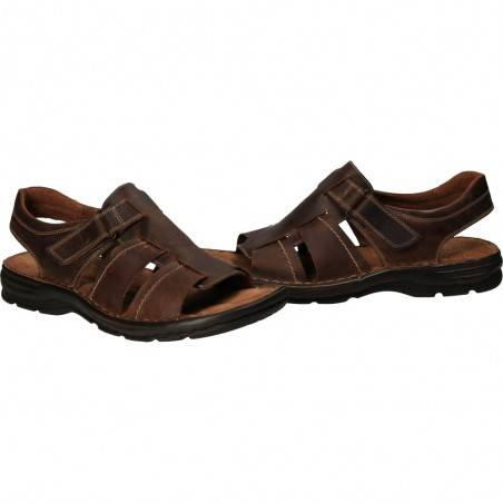 Sandale barbati, din piele naturala, marca Output
