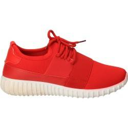 Pantofi rosii de sport, pentru femei