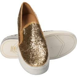 Espadrile aurii pentru femei, marca Flyfor
