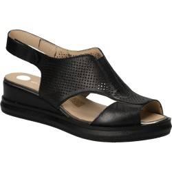 Sandale casual pentru femei, Patrizia Rigotti, culoarea neagra