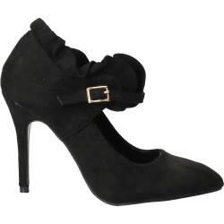 Pantofi eleganti negri pentru femei, Dame Rose