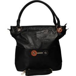 Poseta fashion pentru femei, culoarea neagra