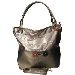 Geanta fashion, pentru femei, culoare bronz
