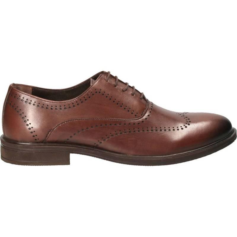 Pantofi eleganti pentru barbati, Da Vinci, culoarea maro