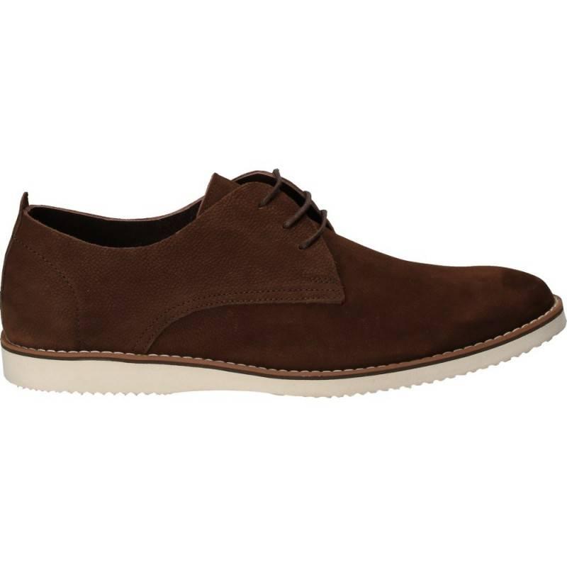 Pantofi maro, pentru barbati, piele naturala, Da Vinci