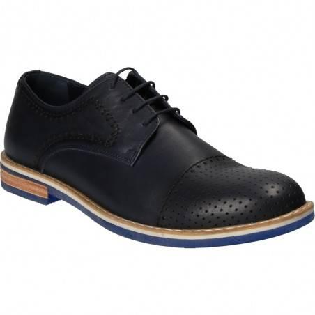 Pantofi din piele, stil elegant, pentru barbati, marca Da Vinci