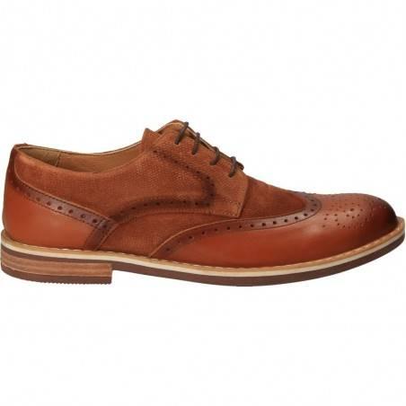 Pantofi Oxford, barbatesti, piele naturala