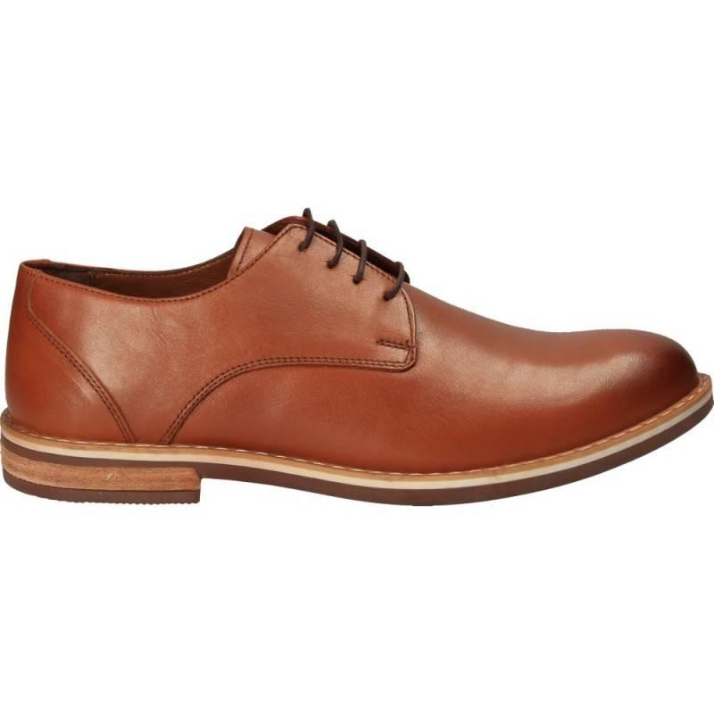 Pantofi Da Vinci, stil elegant, din piele, pentru barbati