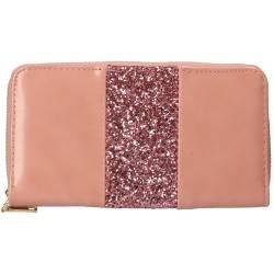 Portmoneu glamour, roz