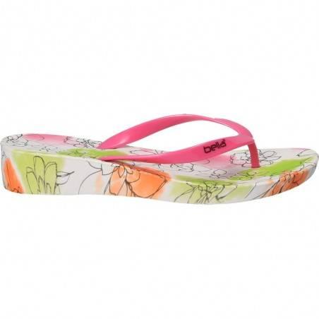 Slapi flip flops, florali, pentru femei