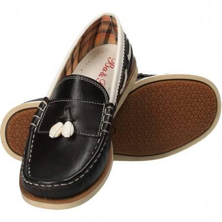 Pantofi mocasini, moderni, pentru copii