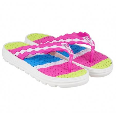Slapi flip-flops, de dama fucsia marca Bella