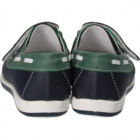 Pantofi Ba and Ba pentru baieti, culoarea albastra
